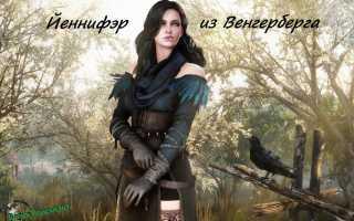 Йеннифэр из Венгерберга в Ведьмак 3 — Полная Биография