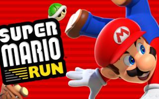 Super Mario Run — первые новости, дата выхода