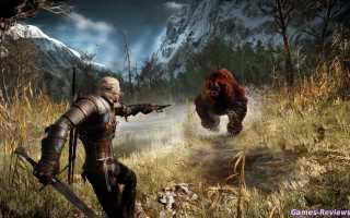 Как стрелять из арбалета в Ведьмак 3