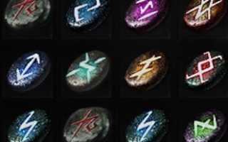 Мастер рун в Ведьмак 3 — улучшение оружия и брони