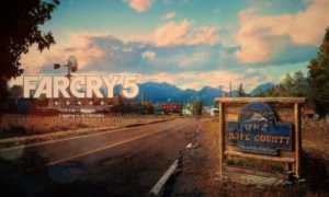 Far Cry 5 — Голая моделька