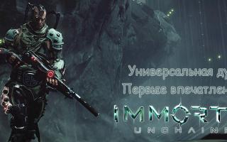 Анонсирована игра Immortal: Unchained с боевой системой в стиле Dark Souls с огнестрельным оружием