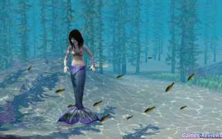 Симс 3: как стать русалкой? — гайды по Sims 3
