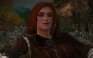 Трисс Меригольд — подборка модификаций для Ведьмак 3