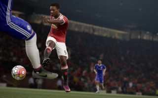 FIFA 17 получила второе обновление