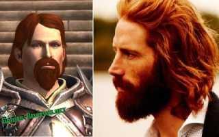 2 часть: сходства персонажей серии игр Dragon Age и актёров