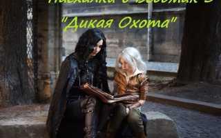 6 часть: пасхалки в Ведьмак 3: Дикая Охота