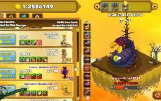 Обзор игры Clicker Heroes