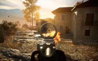 Battlefield V — Знакомство с новой картой «Марита»