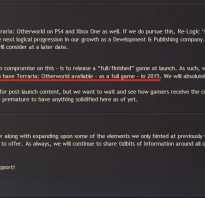 В игру Terraria: Otherworld добавят сюжетную линию и элементы ролевых игр