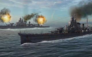 Гайд по крейсерам в World Of Warships