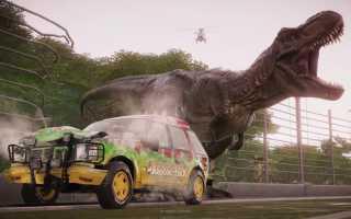 Заповедник для динозавров Jurassic World Evolution