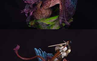 Фигурки героев игры Ведьмак 3: Дикая Охота