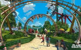 Planet Coaster: обзор игры