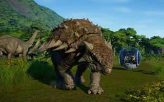 Новая игра Jurassic World Evolution с Gamescom 2017 позволит создать свой парк Юрского периода