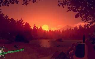 Firewatch — прохождение, обзор, рецензия