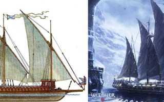 Отсылки к реальным кораблям встречающимся в Ведьмак 3