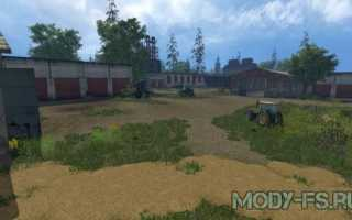 карту Село Курай для Farming Simulator 2015