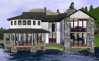 Как построить или купить дом в симс?