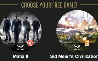 Получи Mafia II или Civilization V за голос на Golden Joystick Awards 2013!