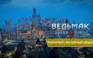 Ведьмак 3: все квесты в Новиграде