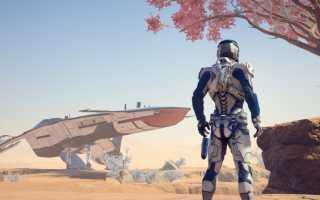 ME: Andromeda будет работать в двух режимах на PS4 PRO