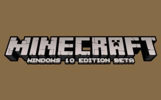 Анонсирована специальная версия Minecraft для Windows 10