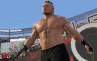 Новый патч для WWE 2K17 выходит 28 октября