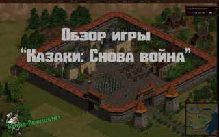 Обзор игры Казаки: Снова Война