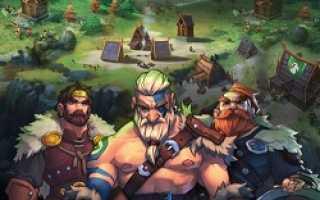 Northgard — инди-стратегия про Викингов